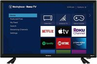 Westinghouse 24quot; Wall Mountable LED HD Roku Smart TV $129.72
