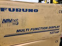 FURUNO NAVNET TZTOUCH3 16quot; MFD W 1KW DUAL CHANNEL CHIRP SOUNDER TZT16F IN STOCK