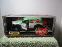 1 18 SCALE MATCHBOX COCA COLA 1940 FORD SEDAN DELIVERY #1