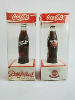 Coca Cola Miniature Contour Bottle Lot Dollywood Atlanta Collectible