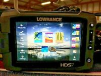 Lowrance HDS7 Gen 2 Touch Fishfinder GPS Charts