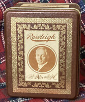 Vintage W.T. Rawleigh Signature Tin Canister Freeport IL Excellent condition