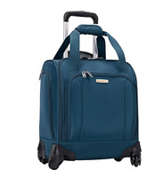 Samsonite Spinner Underseater with USB Port Majolica Blue Bag Luggage Wheeled