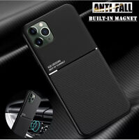 Matte Shockproof Case For iPhone 12 Pro Max Mini 11 X XS 7 8 Plus Cover Magnet $7.29