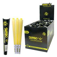 JUMBO DUTCH Premium Black Pre Rolled King Size Rolling Paper Cones 3 Cones Pack GBP 2.94