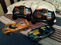 Hot Wheels Ai Intelligent Race System Smart Cars With 2 Remote Controllers $35.00