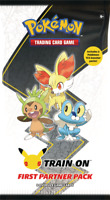 Pokemon First Partner PACK 3 Jumbo Kalos Cards 2 Booster 25th PREORDER $19.99