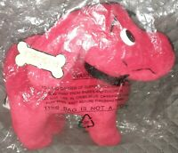 NEW Poseable Scholastic CLIFFORD THE BIG RED DOG 9quot; Plush STUFFED ANIMAL 2002 $20.00