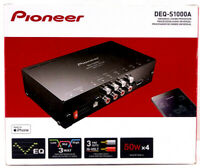 Pioneer DEQ S1000A Universal Sound Processor 50WX4 3 Pre outs New Free Shipping $179.95