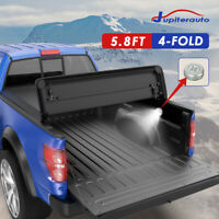 5.7 5.8FT 4 FOLD Tonneau Cover Truck Bed For 2009 21 Ram 1500 Cab Pickup No Box