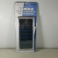 Spectra Jumbo Universal Remote Control Backlit RC 500 With Codes New Sealed NIP $16.45