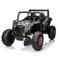 NEW Giant UTV Touch TV 24 Volt 200W Motor Ride on Remote Toy Rzr Polaris Rubber $825.00