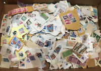 Lot 6 Actual Pics USA used on paper stamps kiloware 15 oz about 1 pound 1LB