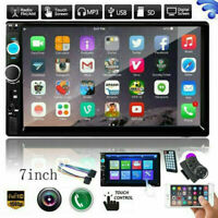 Bluetooth Car Radio Stereo 7 Inch Double 2DIN TF USB FM Touch Screen MP5 Player $53.98