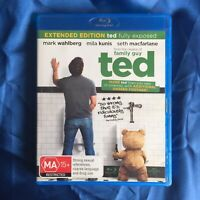Ted Extended Edition Ted Fully Exposed Universal Blu Ray Dvd Movie 2012 AU $1.80