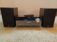 SONY HCD MX500i amp; Remote Micro Hi Fi CD Player IPod Dock AUX Component Player $79.99