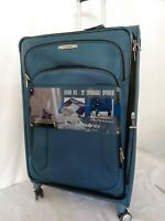 $540 Samsonite Lite Air DLX 29quot; Expandable Spinner Suitcase Luggage Teal Blue