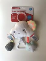 Skip Hop Silver Lining Cloud Jitter Stroller Toy NEW FREE SHIPPING