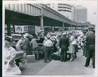 Vintage Travelers amp; Porters Help Load Luggage At City Station Travel Photo 8X10