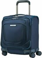 $480 New Samsonite Silhouette 16 Underseat Spinner Carry On Evening Teal Luggage