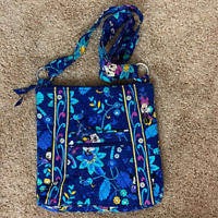 NEW Vera Bradley Disney Parks Dreaming of Mickey Mouse blue Large Hipster