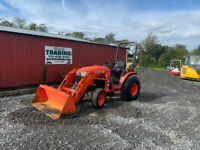 2016 Kubota B3350 4x4 Hydro 33Hp Compact Tractor w Loader Only 500 Hours