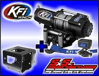 2500 lb KFI Winch Combo Polaris Sportsman 550 850 XP & 2011-2019 400 500 570 800