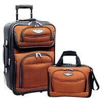 Travel Select Orange Amsterdam 2-Piece Carry-on 21