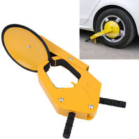 Parking Car Truck ATV RV Boot Tire Claw Boot Wheel Clamp Trailer Lock Anti Theft