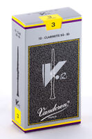 2 boxes of Bb clarinet V12 reeds - 3 (Vandoren) + humor drawing print