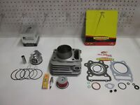 (NEW) COMPLETE TOP END CYLINDER KIT FOR A HONDA ATV TRX 300  FOURTRAX  1988-2001