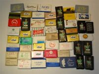 Lot Of 55 Vintage 1960s Hotel Motel Advertising Ivory Lux Dial Camay Soap Bars