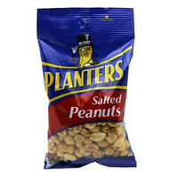 Planters Salted Peanuts - Bag 6 Oz Each ( 12 In A Pack )