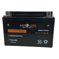 YTX9-BS Sealed ATV Battery Suzuki QuadSport LT-Z250 LT-Z400 KTM RXC Super Moto