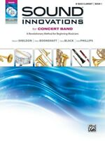 SOUND INNOVATIONS FOR CONCERT BAND Bb BASS CLARINET BOOK 1 w dvd mp3