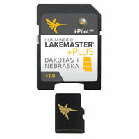 Humminbird 600013-4 LakeMaster Dakotas / Nebraska PLUS - Version 1 Map Card