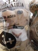 Taco Bell Chihuahua Plush Stuffed Talking Dog Sealed  6