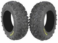 Kenda Bear Claw 25x8-12 K299 ATV Front 2 Pack Tires 6PLY Construction 25x8x12