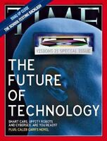 TIME Magazine 2000 JUNE 19 The Future Of Technology Smart Cars Robots Cybersex $7.99