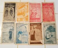 Beaham's Faultless Starch Library Lot of 8 Different Booklets