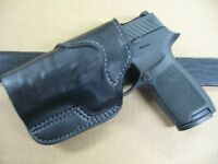 Azula Leather SOB Small Of Back OWB Belt Holster CCW For..Choose Gun