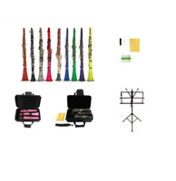 NEW Merano BB Clarinet,Case,Accs ~ Black Red Pink Blue Green Purple Yellow White