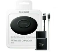 Samsung Wireless Charging Pad Slim Fast Charger for All Qi Devices USB Type C $24.99