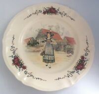 Obernai France Sarreguemines Dishwasher Safe France Chopplate Plate 12.5