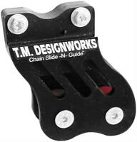 T.M. Designworks - RCG-TRX-BK - Rear Chain Guide and Dual Powerlip Roller, Black