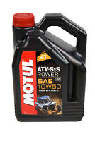 Motul 105901 ATV/SXS Power 4T 10W50 Oil 4 Liter