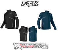 2019 Fox Racing Mens Legion Softshell Navy / Black DirtBike Jacket DualSport ATV