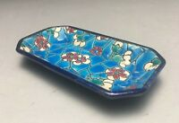 Lovely Little French Longwy Pottery Faience Pin Dish Tray
