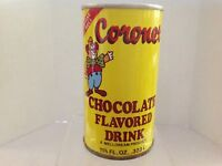 Coronet Chocolate Drink Vintage Soda 12 oz. Pull Tab Can, Clown Graphics
