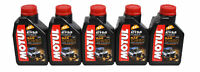Motul 105900 Atv/sxs Power 4t 10w50 Oil 1 Liter - 5 pck